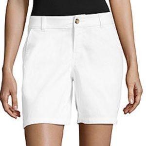 A.N.A Twill White Shorts